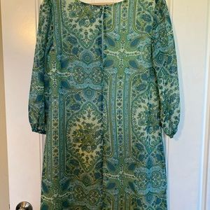 a.n.a Dresses - Fully lined medallion dress